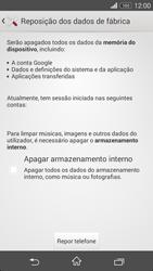 Sony Xperia M2 - Repor definições - Repor definições de fábrica do telemóvel -  7