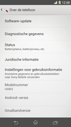 Sony C6903 Xperia Z1 - Software update - update installeren zonder PC - Stap 5