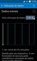 Samsung Galaxy Trend 2 Lite - Internet no telemóvel - Como ativar os dados móveis -  5
