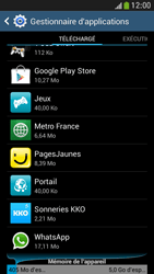 Samsung Galaxy S4 Mini - Applications - Supprimer une application - Étape 6