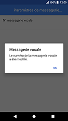 Sony Xperia X Compact - Android Oreo - Messagerie vocale - configuration manuelle - Étape 12