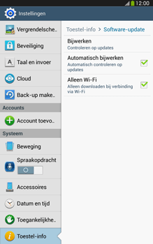 Samsung T315 Galaxy Tab 3 8-0 LTE - Software update - update installeren zonder PC - Stap 6