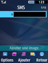 Samsung Solid 271 - Contact, Appels, SMS/MMS - Envoyer un MMS - Étape 5
