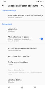 Sony Xperia XZ3 - Sécurité - modifier SIM PIN - Étape 6