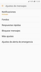 Samsung Galaxy S7 - Mensajería - Configurar el equipo para mensajes de texto - Paso 6