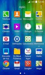 Samsung Galaxy J1 - SMS - Como configurar o centro de mensagens -  3