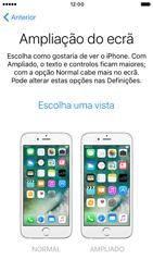 Apple iPhone 6s iOS 10 - Primeiros passos - Como ligar o telemóvel pela primeira vez -  24