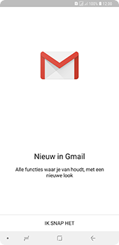 Samsung Galaxy A9 - E-mail - handmatig instellen (gmail) - Stap 5