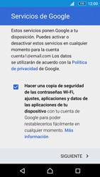 Sony Xperia M5 (E5603) - E-mail - Configurar Gmail - Paso 14