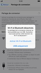 Apple iPhone 6s - iOS 11 - Internet et connexion - Utiliser le mode modem par USB - Étape 7