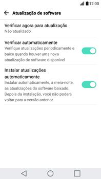 LG G5 Stylus - Funções básicas - Como atualizar o software do seu aparelho - Etapa 8