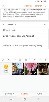 Samsung Galaxy Note 8 - E-mails - Envoyer un e-mail - Étape 13