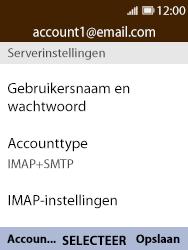 Nokia 8110-ta-1071 - E-mail - Instellingen KPNMail controleren - Stap 12