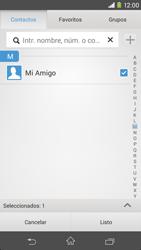 Sony Xperia M2 - Mensajería - Escribir y enviar un mensaje multimedia - Paso 9