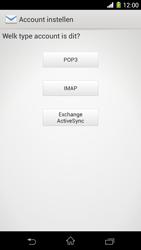 Sony C6903 Xperia Z1 - E-mail - Handmatig instellen - Stap 7