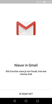 Huawei P Smart - E-mail - Handmatig instellen (gmail) - Stap 4