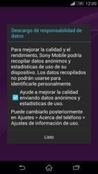 Sony Xperia Z3 - Primeros pasos - Activar el equipo - Paso 14