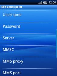 Sony Ericsson Xperia X10 Mini - Internet - Manual configuration - Step 9