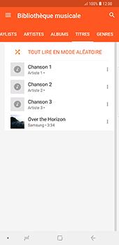 Samsung Galaxy Note 9 - Photos, vidéos, musique - Ecouter de la musique - Étape 8