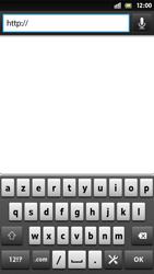 Sony LT26i Xperia S - Internet - Navigation sur internet - Étape 4