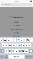 Apple iPhone 5s iOS 8 - Aplicações - Como pesquisar e instalar aplicações -  11
