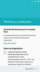 Samsung Galaxy S6 - Primeros pasos - Activar el equipo - Paso 6