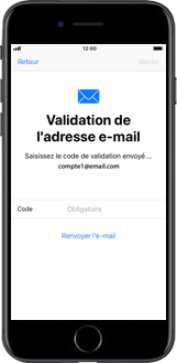 Apple iPhone X - Applications - Créer un compte - Étape 18