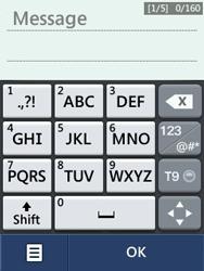 LG T580 - Contact, Appels, SMS/MMS - Envoyer un SMS - Étape 9