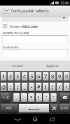 Sony Xperia L - E-mail - Configurar correo electrónico - Paso 14