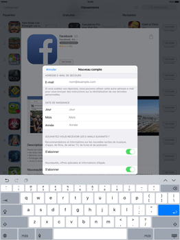 Apple iPad Pro 12.9 (1st gen) - iOS 9 - Applications - Télécharger des applications - Étape 13