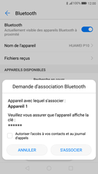 Huawei P10 - Android Oreo - Bluetooth - connexion Bluetooth - Étape 9