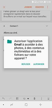 Samsung Galaxy A6 - E-mail - envoyer un e-mail - Étape 11