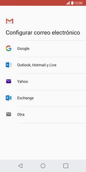 LG G6 - E-mail - Configurar Gmail - Paso 7