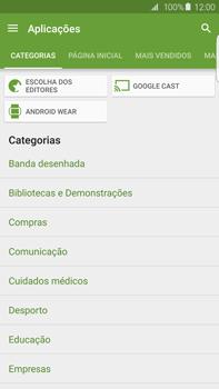 Samsung Galaxy S6 Edge + - Aplicações - Como pesquisar e instalar aplicações -  6