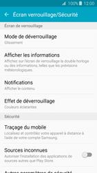 Samsung Galaxy J3 (2016) - Sécuriser votre mobile - Activer le code de verrouillage - Étape 5