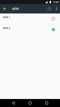 Motorola Moto Z Play - Internet - Configuration manuelle - Étape 18