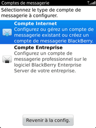 BlackBerry 9810 Torch - E-mail - Configuration manuelle - Étape 5