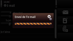 Nokia N97 Mini - E-mail - envoyer un e-mail - Étape 14