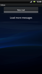 Sony Ericsson Xperia Play - Email - Sending an email message - Step 11
