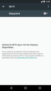 Huawei Google Nexus 6P - WiFi et Bluetooth - Configuration manuelle - Étape 5