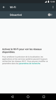 Huawei Nexus 6P - Wifi - configuration manuelle - Étape 4