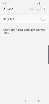 Samsung Galaxy S10e - Wifi - configuration manuelle - Étape 5