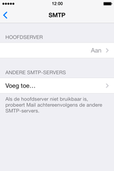 Apple iPhone 4 iOS 7 - E-mail - Account instellen (IMAP zonder SMTP-verificatie) - Stap 18