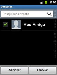Samsung Galaxy Y - Mensagens - Como criar e enviar mensagens multimídia (MMS) - Etapa 8