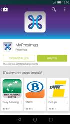 Huawei Ascend G7 - Applications - MyProximus - Étape 9