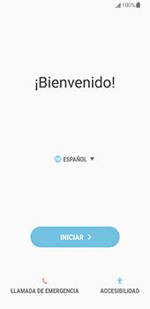 Samsung Galaxy S8 - Primeros pasos - Activar el equipo - Paso 4