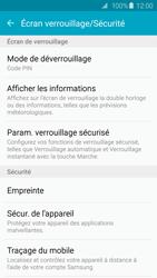 Samsung Galaxy S6 - Sécuriser votre mobile - Activer le code de verrouillage - Étape 12