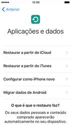 Apple iPhone SE iOS 10 - Primeiros passos - Como ligar o telemóvel pela primeira vez -  17
