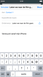 Apple iPhone 6s met iOS 9 (Model A1688) - E-mail - Hoe te versturen - Stap 7