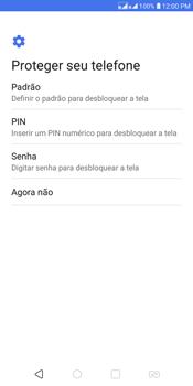 LG K12+ - Primeiros passos - Como ativar seu aparelho - Etapa 10